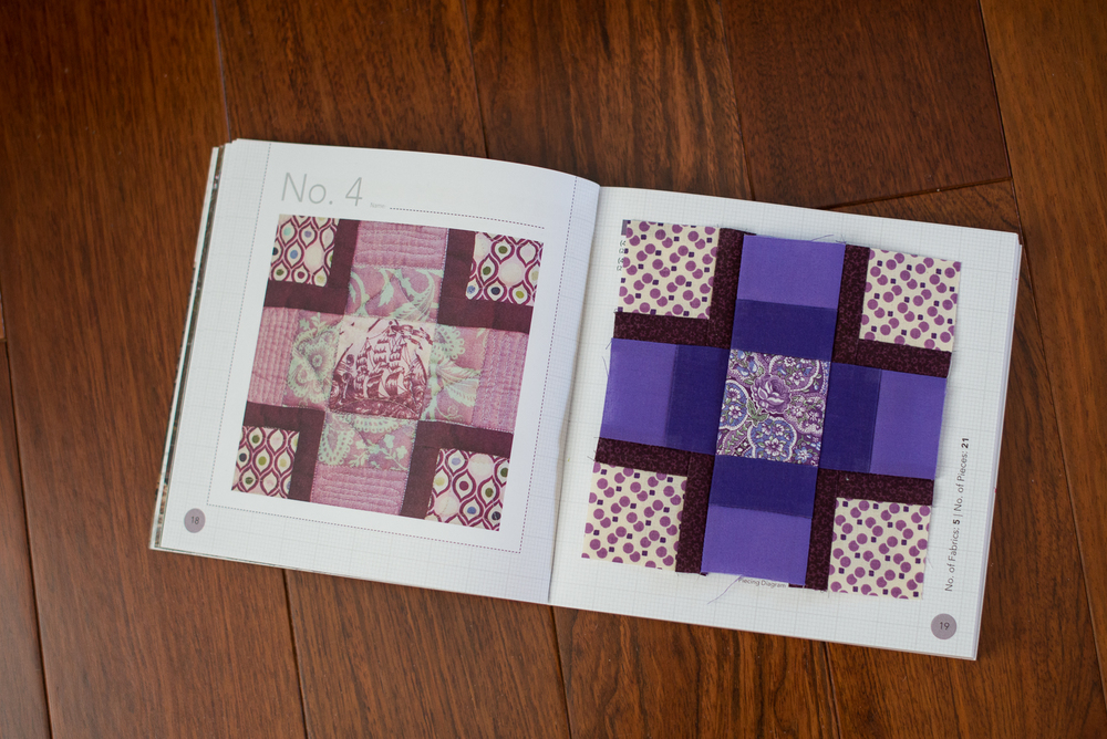 Block No 4 : The Purple Polka