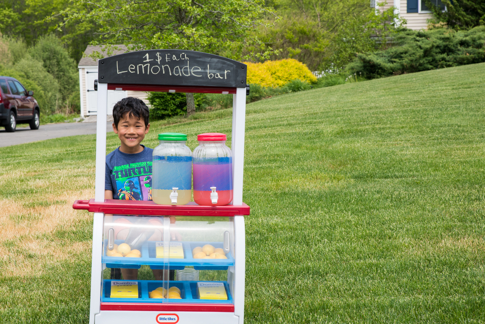 While it didn't make the list... he also asks to set up a lemonade stand a lot too!