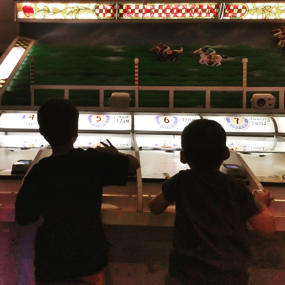 Summer Adventure No. 20: The Arcade! (No rest for the weary Mama!)