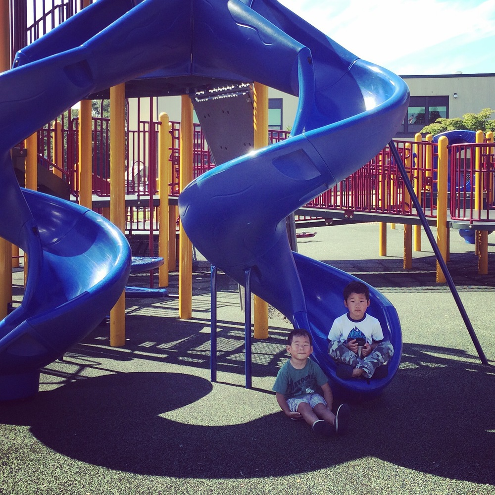 Summer Adventure No. 40: The Favorite Playground Tour. We made it to all our favorite playgrounds, near and far!