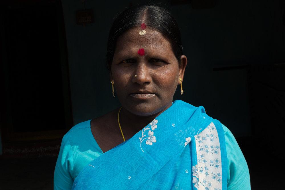 Hemavathi, 45 of Balliputugga, AP, India