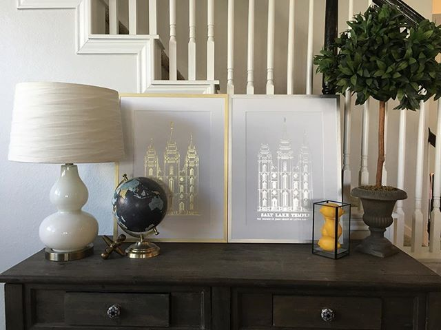 What's your favorite? Silver or Gold? Katy locals we are moving so pick up these prints and save the shipping. . . .  Local pick up discount of $25.00 as well