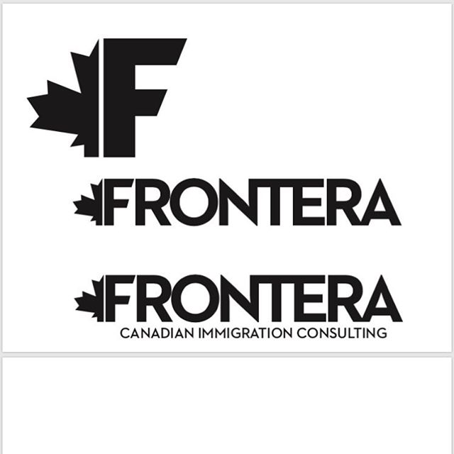Just finished a logo for Frontera.