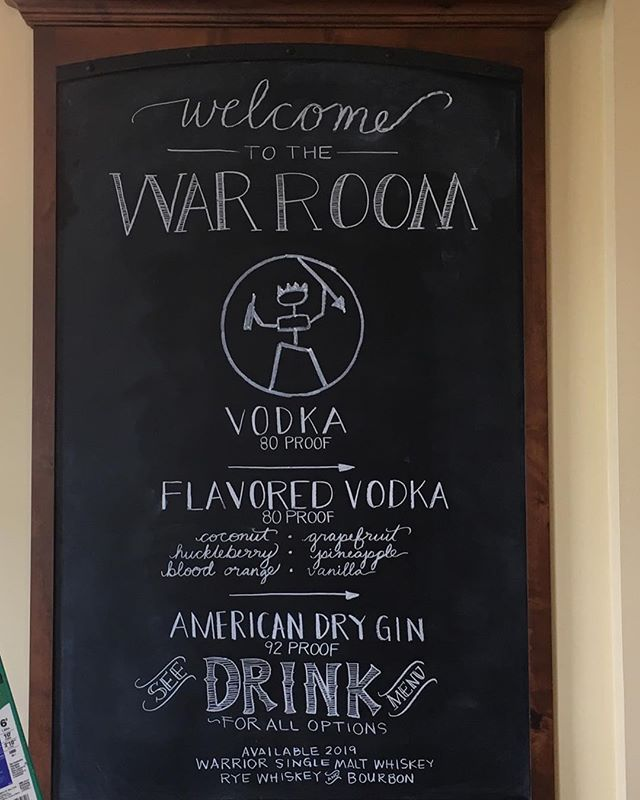 I had fun making this menu chalkboard for a client