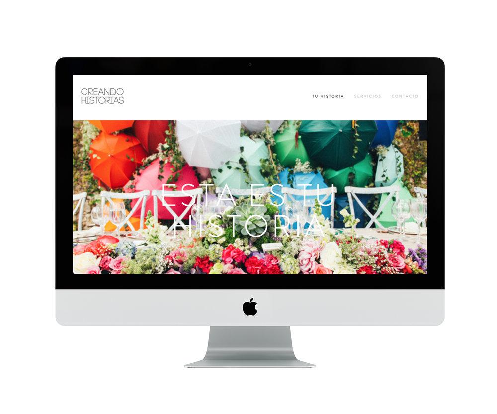Website for Creando Historias