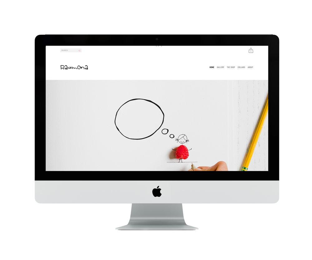 Website for Rawmona