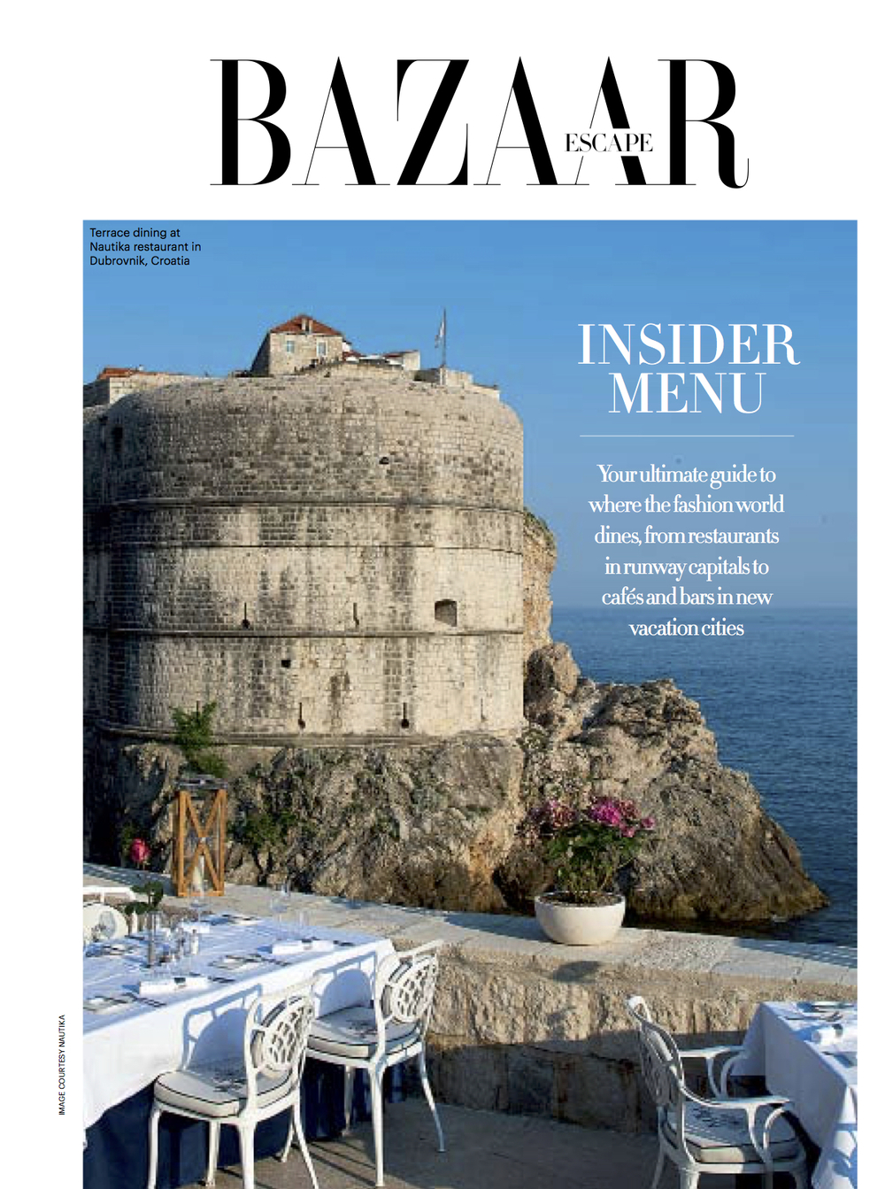 Harper's Bazaar Escape