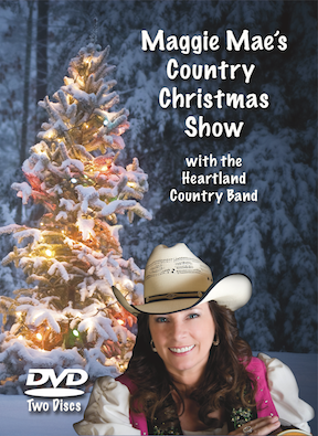 New for 2015! The Maggie Mae Country Christmas DVD Set is in productionand almost ready for sale.