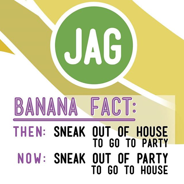 "Do you remember that time in your life when you felt you were missing out on everything worth anything if you didn't leave your house 🏠 ESPECIALLY if there was a party 🎉 going on? . JAG Banana 🍌Fact # 1234567: ""I used to sneak out of my house to go to parties. Now I sneak out of parties to go to my house."" . . #ifiknewthenwhatiknownow then maybe I would've saved more, spent less, worked more and partied less. . #maybe #thenagainmaybenot . On the flip 💁‍♀️ side, those years are what made me who I am today, and today I (try to) have a nice #worklife balance, I'm working for my own company (@jagbranding + @jagbrandingec) in a tropical 🌴 beach town (#mantaecuador) with the love of my life (@ambarlanus) on projects we are passionate about. . @moquibabygifts  @eatinmanta  @elsolmanta  @jsonthebay  @beastfitnyc  @ecuadorshoresrealty  @bestinmanta  @elitecontractors.us  @chefjoesalimeni  @miataggartofficial  @rentinmanta . . . Either way, this saying talks to me. . . . #withagecomeswisdom #quoteoftheday✏️ #beachlifeisthebestlife #notjustagimmick #jagbananas #bananaquotes #bananafact #bananafacts #lifeoftheparty #clubbeddjpillow #wordsofwisdom #sundayquotes #passionproject #branding101 #brandingagency #brandingdesign #instadesign #instacollage #instagood #instaquote"