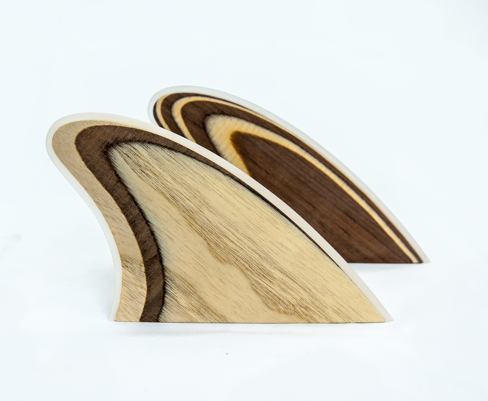Front - Paulownia and Walnut : Back - Walnut and Maple