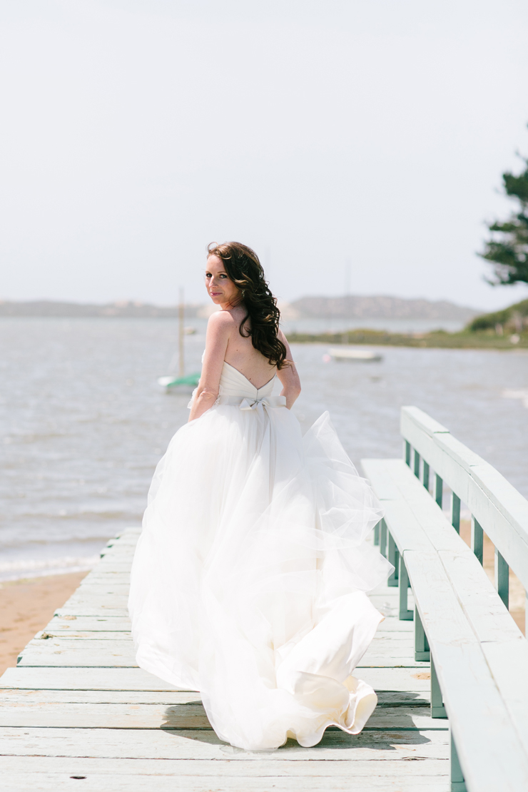 Beach Wedding Bride