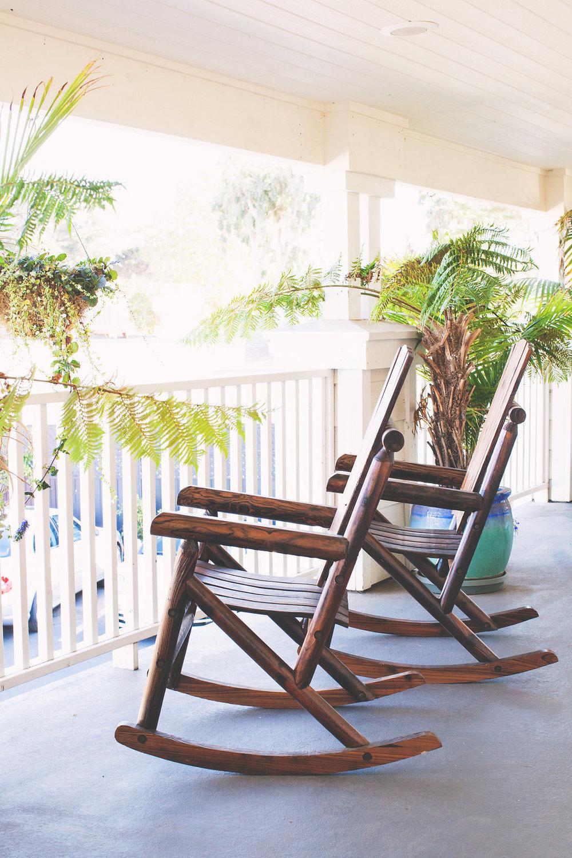 Back Bay Inn Porch