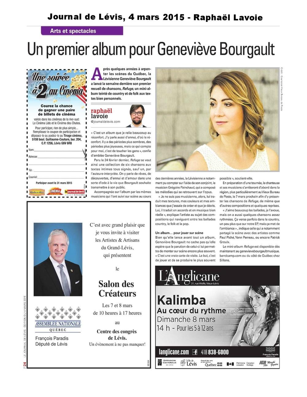Journal de Levis 4 mars 2015 (Raphaël Lavoie)-page-001 (1).jpg