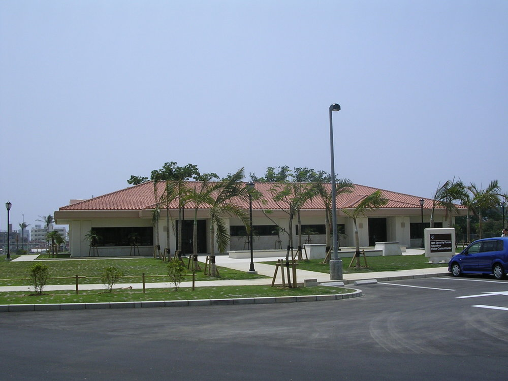 Visitor Control Center / Traffic Check House, Kadena