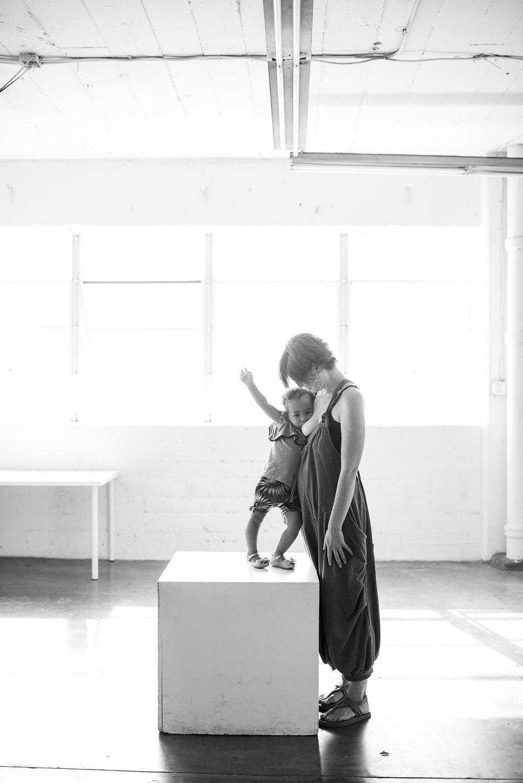 Meg & Maizey, 21 months