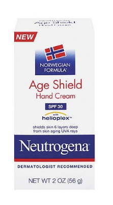 Neutrogena Norwegian Formula Age Shield Hand Cream SPF 30-Travel Size