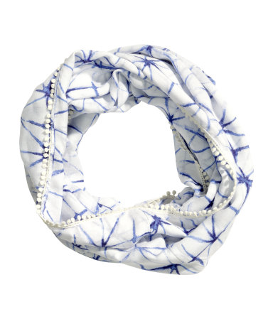Patterned Tube Scarf, $14.95