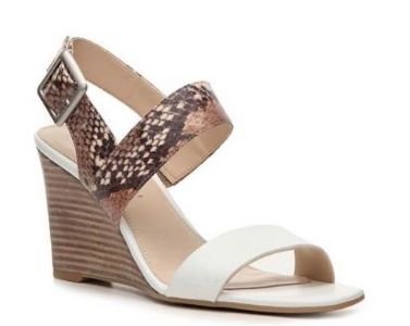 Franco Sarto Hooper Reptile Wedge Sandal
