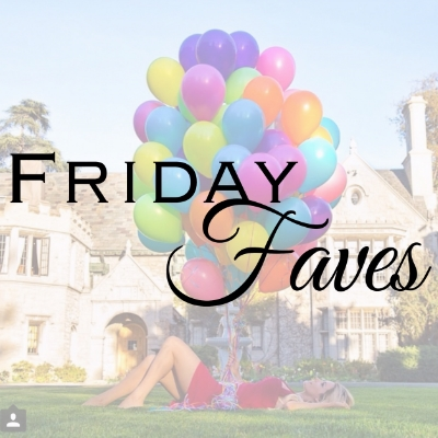 friday favorites instagram