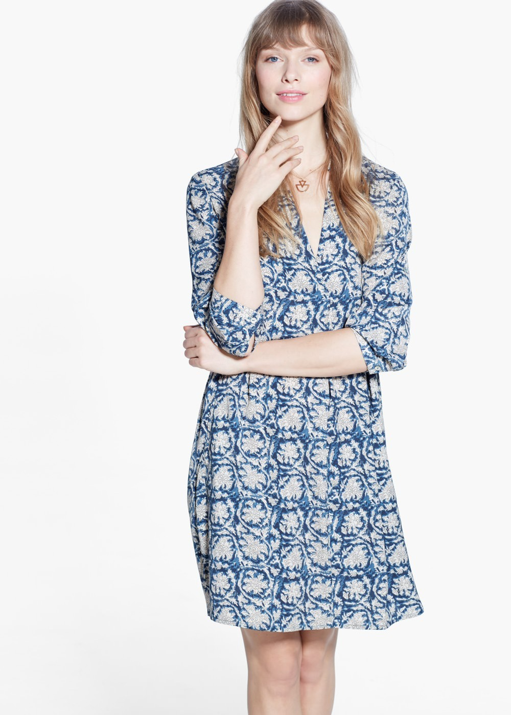 Flowy shirt dress, $19.99