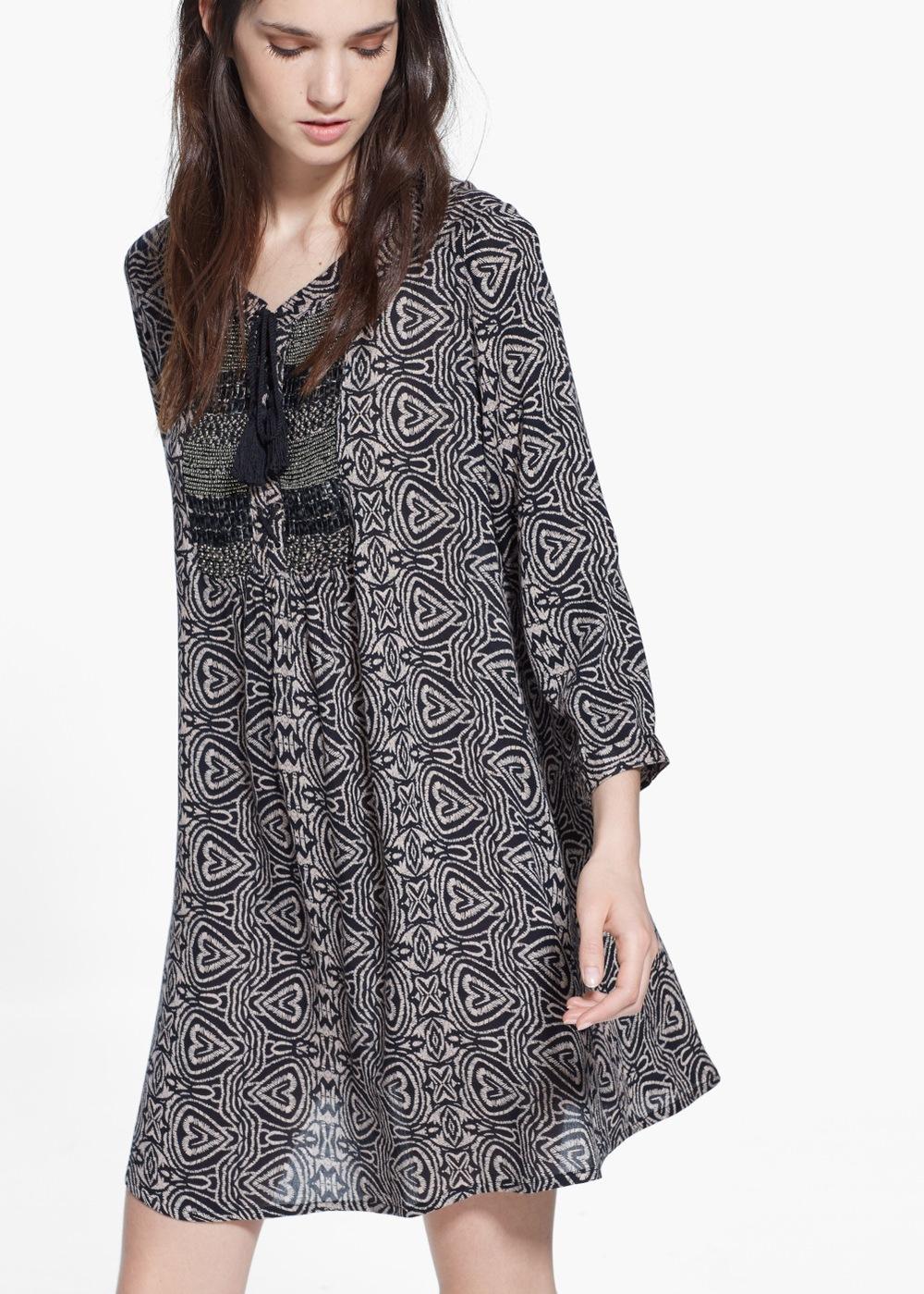 Beaded panel Dress , $39.99