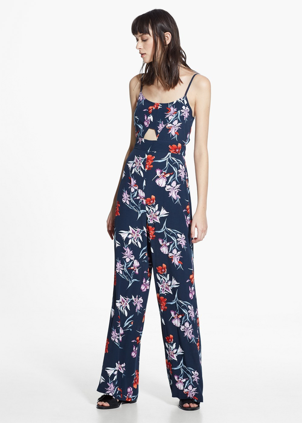 Floral long jumpsuit,  $99.99