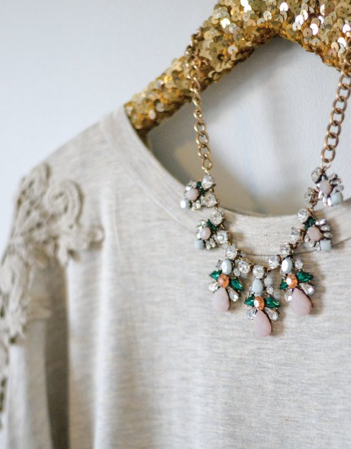 All Gussied Up Necklace, $24.95