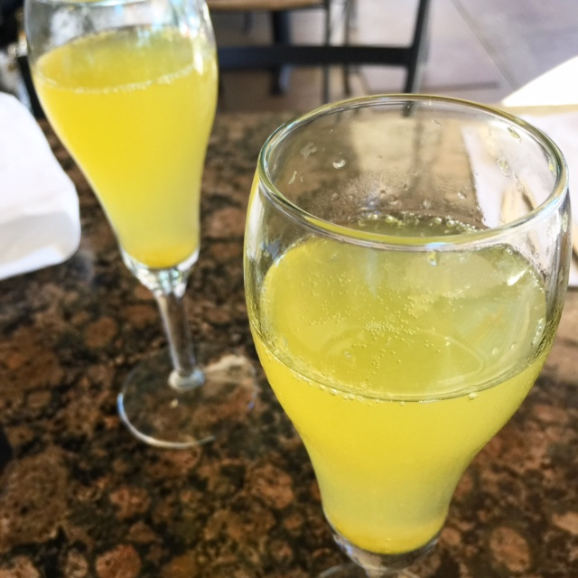 A rare brunch with one of my oldest girlfriends - no kids or hubbies, and bottomless mimosas.