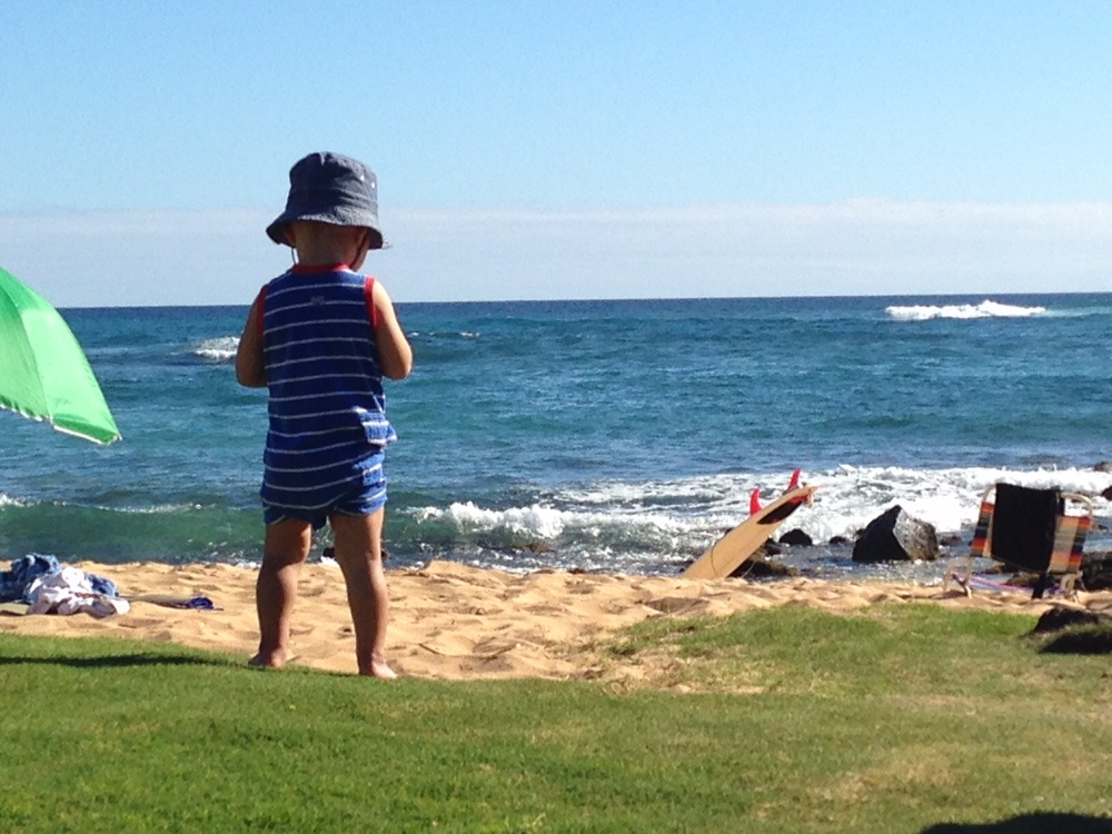toddlers first trip to kauai