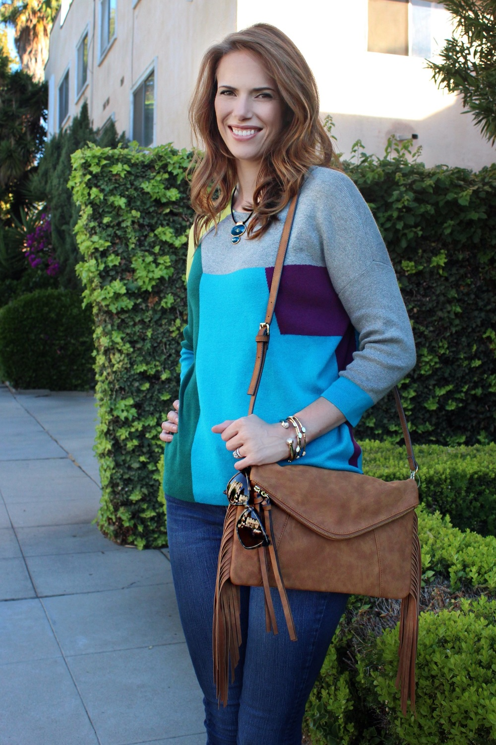 fall sweater jc penny colorful sweater fall style