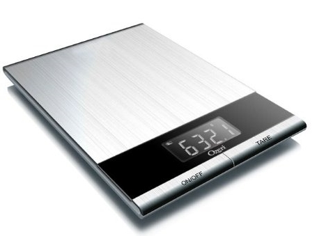 Ozeri Ultra Thin Professional Digital Kitchen Food Scale
