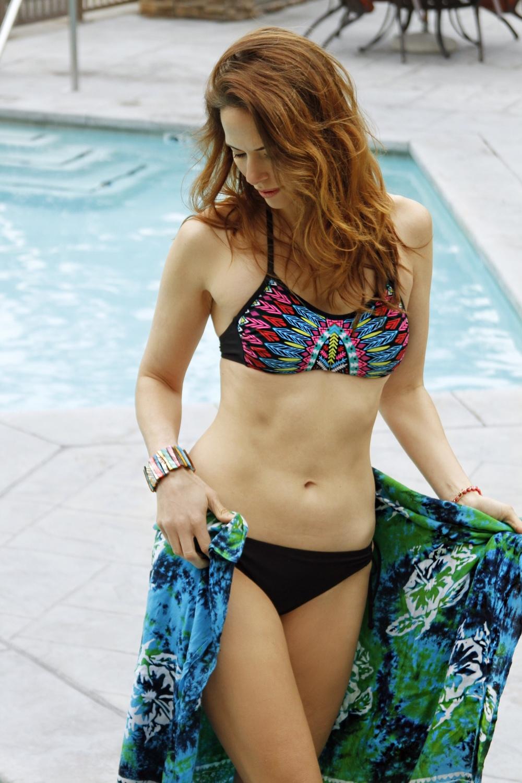 fashion blogger swim target style
