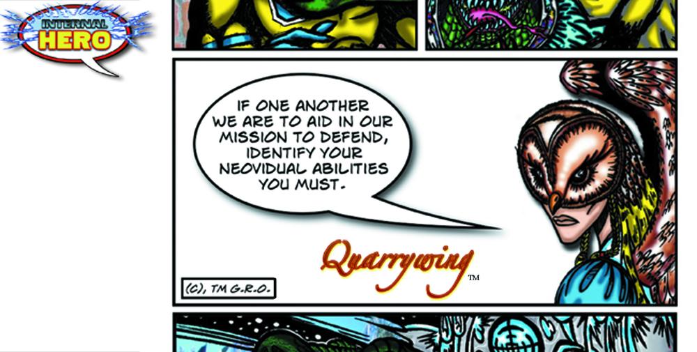 Quarrywing : solo heroine