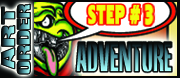 Order art :Step#3 Comic Pages, Cover & Art Options