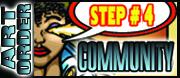 Order art :Step#4 Share Art Progress with Social Media