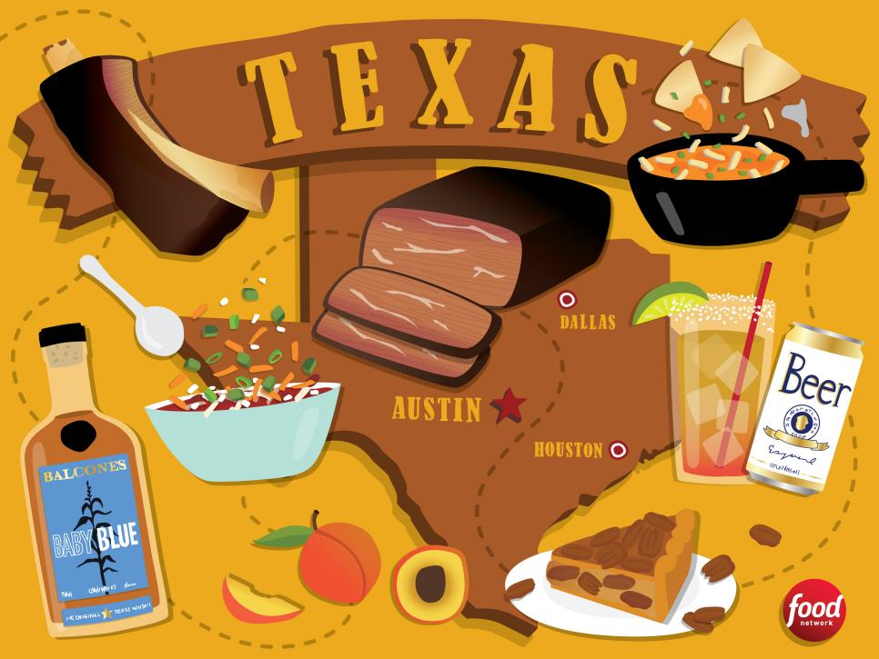 THE BEST FOOD TO EAT IN TEXAS  - FOOD NETWORK