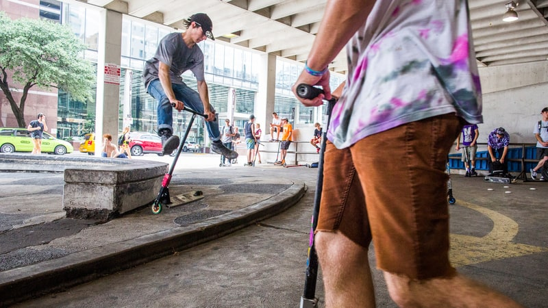 FROM TOY TO THRASH: HOW SCOOTERS ARE BECOMING MILLENNIALS' EXTREME SPORT OF CHOICE  - ROLLING STONE