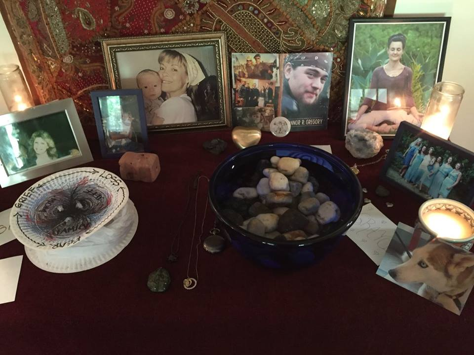 ALTAR TO COMMEMORATE OUR LOVED ONES