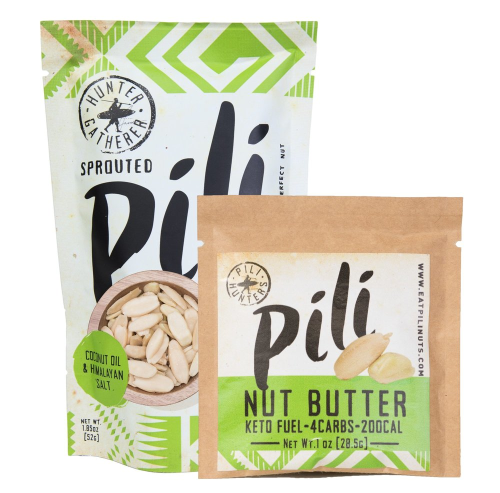 RUNNER-UP:   Pili Nuts - The RUNNER-UP receives a supply of Pili Nuts delivered to their doorstep! These rare and exotic nuts are perfect for the ketogenic diet. They are considered the 'King of Nuts' because of their excellent macronutrient ratio, amazing buttery taste and unique texture.