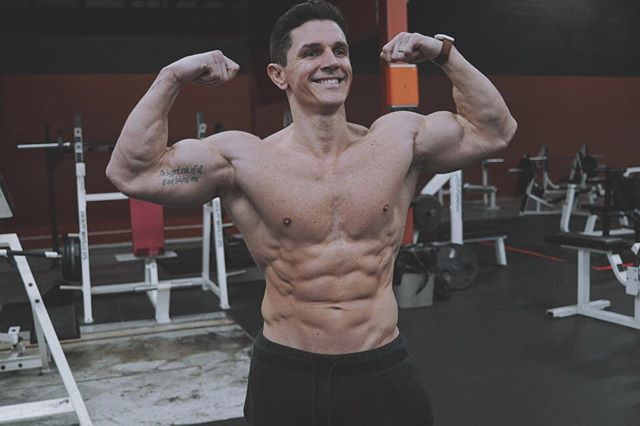 I read a study that said you can't build muscle on low-carb diets. Watch me bitch. - #studyharder #lowcarb #highfat #keto #gains #hardwork #motivation