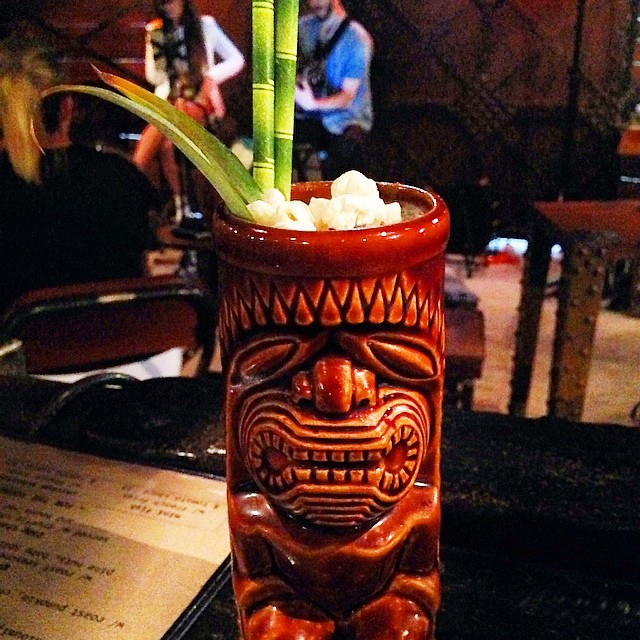 Our signature Pop-Corn Mai Tai