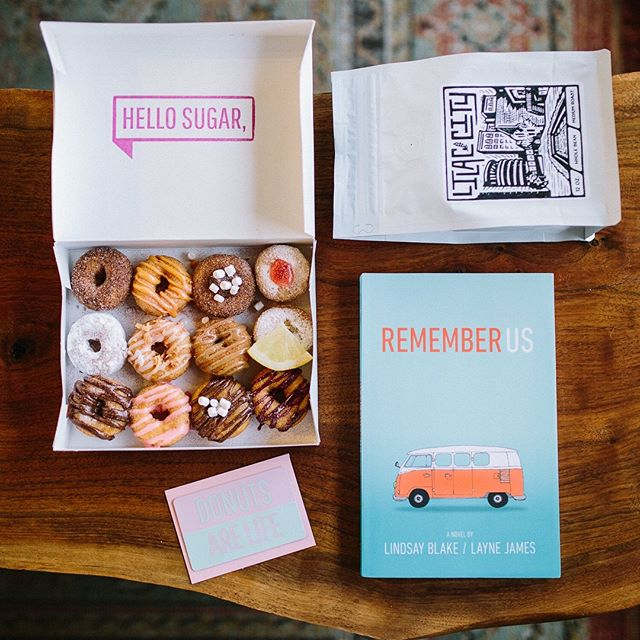 ***GIVEAWAY*** Hey all! I'm so honored to partner up with my dearest friends @blakeandbeckner who wrote a book called Remember Us that debuts January 22nd! To celebrate, we're giving the lucky winner a copy of the book along with a $15 @hellosugarspokane gift card and a 12 oz bag of whole bean @indabacoffee! ☕️🍩📖 To enter: -Make sure you're following both me & @blakeandbeckner -Tag 3 friends you want to get donuts and coffee with! -Get an extra entry for sharing it in your story!  Winner will be announced on January 22nd so stay tuned! *Remember Us is a heart warming story about family, forgiveness and finding one's way. I laughed & cried throughout the book and highly recommend the read! For the full synopsis, see the first comment below!