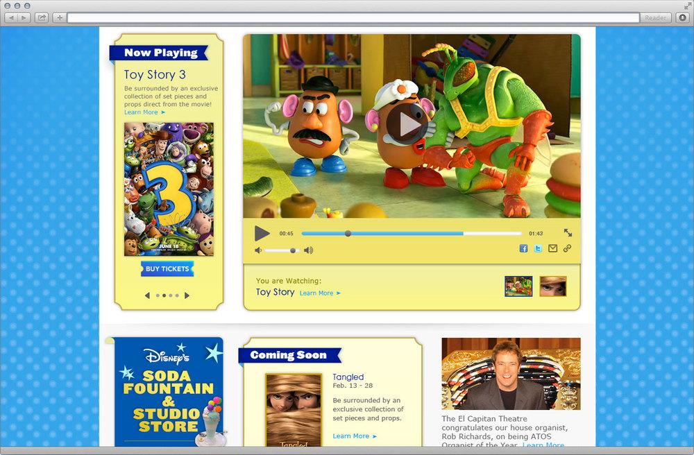 Homepage Detail