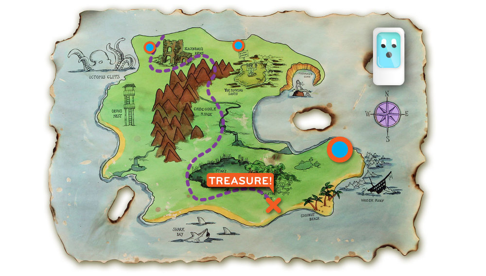 Interactive Quest Maps