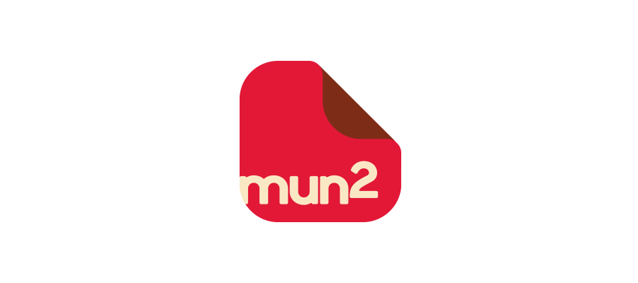 Logo I designed that included the original mun2 logotype