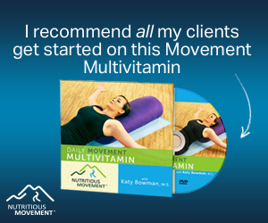 """This single DVD is for the entire body, with the exercises arranged in more of a 'workout' style. This """"once-a-day"""" program contains 18 exercises broken into two routines, five posture makeover tips, and bonus material."""
