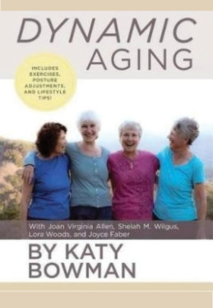 "I've just taken delivery of a limited number of Katy Bowman's new book ""Dynamic Aging"". It's $30.00 a copy, so let me know if you'd like one and I'll bring it to your next class. It's an inspirational gem. You can  read more about it here."