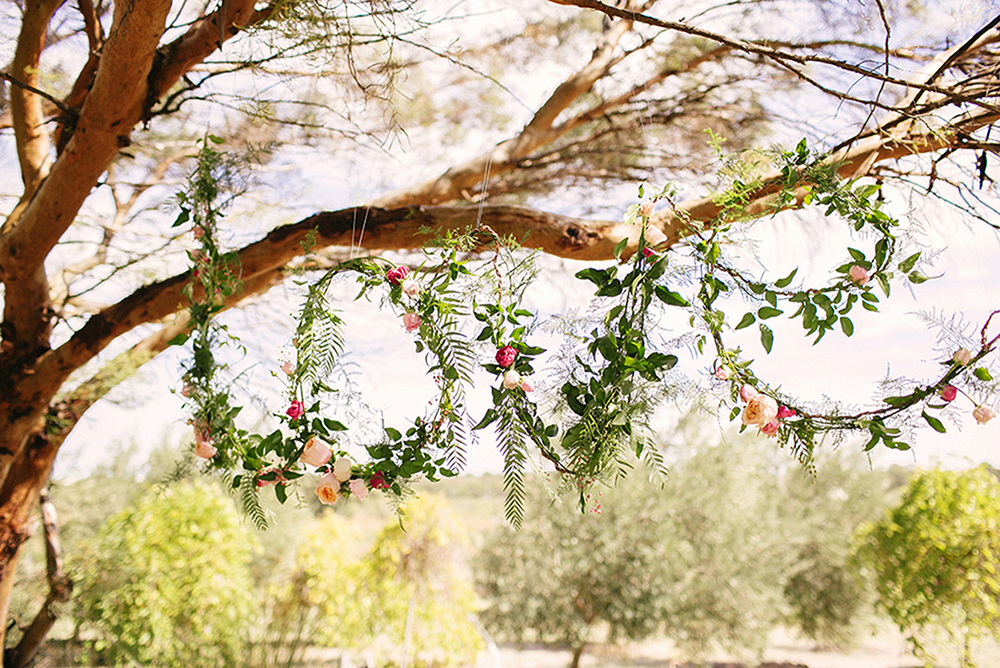 Floral Love in tree