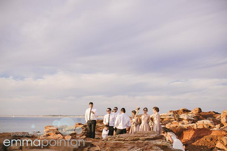 Gantheaume Point Broome Wedding