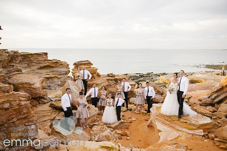 Gantheaume Point Wedding